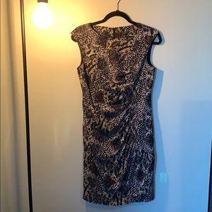 Ann Taylor python dress